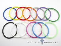 Titan Competition Silicone Rings 3 1/2""