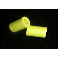 """7/8"""" Yellow Rubber Post Sleeve"""