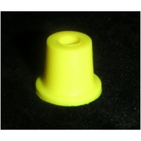 Tapered Yellow Bumper Post Sleeve