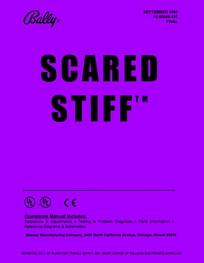 Scared Stiff (Bally) - Manual