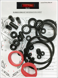 Rubber kit PREMIUM -  Judge Dredd