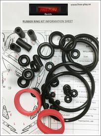 Rubber kit PREMIUM -  Cyclone