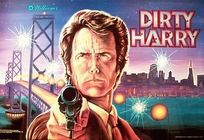 Dirty Harry - Translite (NOS)
