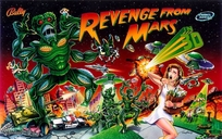 Revenge from Mars - Translite (NOS)