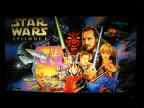 Star Wars Episode 1 - Translite (NOS)
