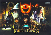 Lord of the Rings - PREMIUM LED Playfield kit