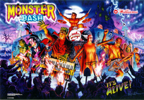 Monster Bash - Playfield LED GI kit