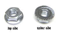 Coin Door Whiz Flange Locknut (1/4-20 )