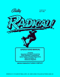 Radical (Bally) - Manual