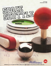 Space Shuttle (Williams) - Manual