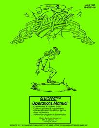 SlugFest (Williams) - Manual