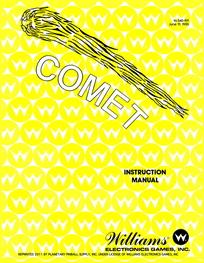 Comet (Williams) - Manual