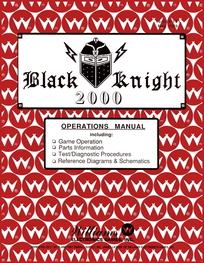 Black Knight 2000 (Williams) - Manual