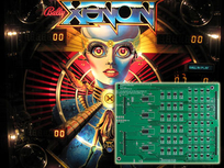 LED Playfield Kit - Xenon inkl. Lamp Driver Board