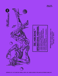 The Machine (Williams) - Manual