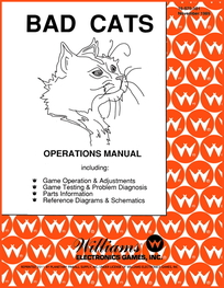 Bad Cats (Williams) - Manual