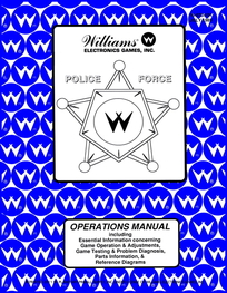 Police Force (Williams) - Manual