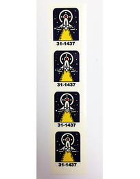 Space Station - Target Decal Set (4 pcs)
