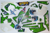 Congo - Komplett plastset