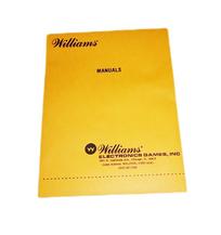 Williams Pinball Manual Envelope