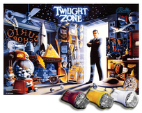 LED Playfield Kit - Twilight Zone