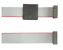 """Ribbon Cable 14 pin, 26"""" (66 cm) with Ferrite Core"""