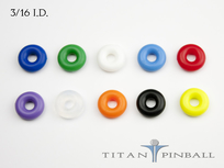 "Titan Competition Silicone Rings 3/16"" ID"