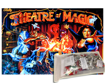 Komplett Premium NON-GHOSTING LED kit - Theatre of Magic