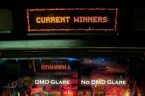 DMD No Glare Film For Stern Pinball Machines - Outer Mounting