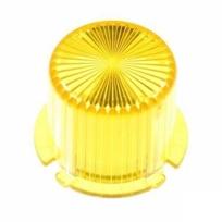 Plastic Light Dome, vridfäste - Gul