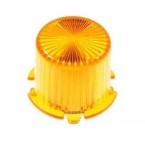 Plastic Light Dome, vridfäste - Orange