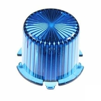 Plastic Light Dome, vridfäste - Blå