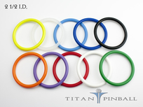 Titan Competition Silicone Rings 2 1/2""
