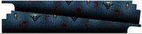 Bram Stoker's Dracula - PinBlades™ (Interior Panel Decal Set)