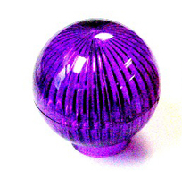 Monster Bash Purple Globe Lamp Dome