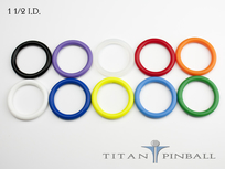 Titan Competition Silicone Rings 1 1/2""