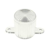 Plastic Light Dome, skruvfäste - Clear