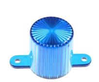 Plastic Light Dome, skruvfäste - Blå